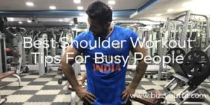 Best Shoulder Workout , Busy But Fit