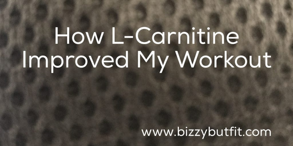 How L-Carnitine Improved My Workout